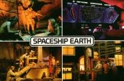 Spaceship Earth Postcard