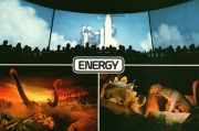 Universe of Energy Postcard EPCOT Center