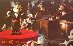 Mickey Mouse Review Postcard