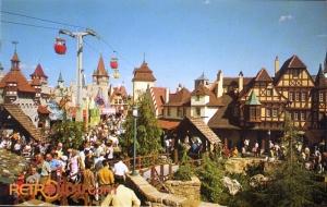 Fantasyland Postcard