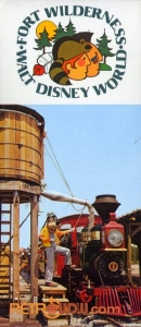 Fort Wilderness Postcard Book Cover
