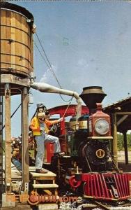 Fort Wilderness Railroad Postcard