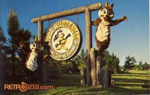 Fort Wilderness Sign Postcard