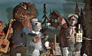 Country Bear Jamboree Postcard