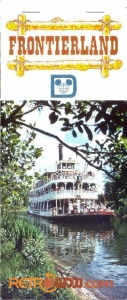 Frontierland Postcard Book Cover