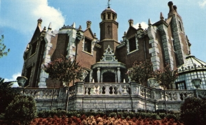 Haunted Mansion Postcard