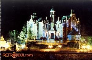 Haunted Mansion Exterior Postcard