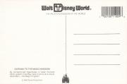 Magic Kingdom Postcard