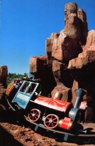 Big Thunder Mountain RailroadPostcard