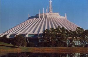 Space Mountain Postcard
