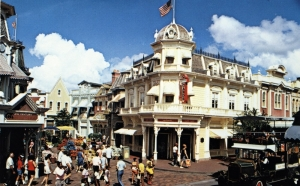 Main Street USA Postcard