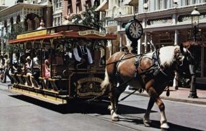 Main Street USA Streetcard Postcard