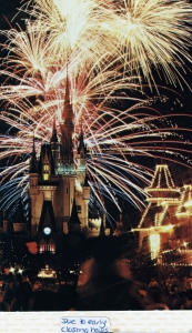 Cinderella Castle Postcard 1980