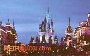 Cinderella Castle Postcard