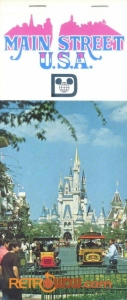 Postcard book cover Main Street USA
