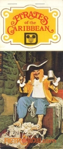 Pirates of The Caribbean Postcard Book Cover