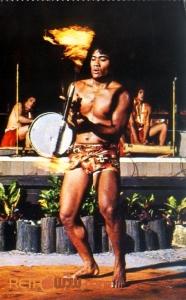 Polynesian Luau Postcard
