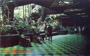 Polynesian Interior Postcard