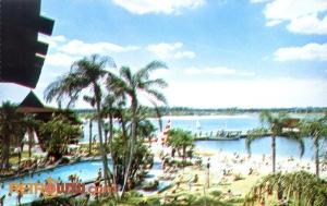Polynesian Resort Postcard