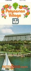 Polynesian Resort Postcard Book Cover