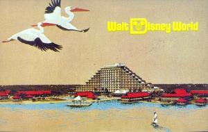 Polynesian Resort Concept Postcard