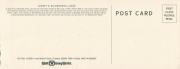 Wildnerness Lodge Postcard - Rear
