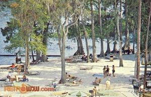 River Country Beach Postcard