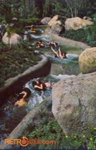 White Water Rapids Postcard