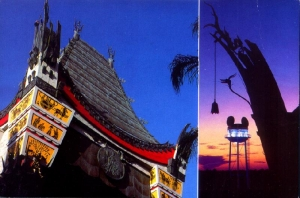 Chinese Theater and Earful Tower