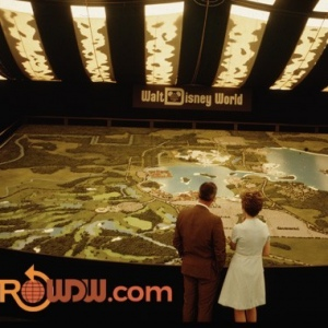WDW Model at Preview Center