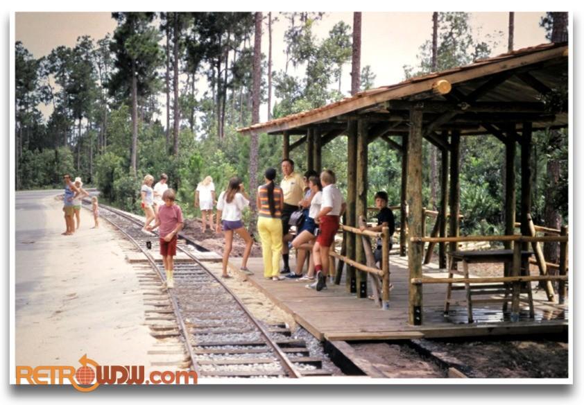 Fort Wilderness RR Stop 1973