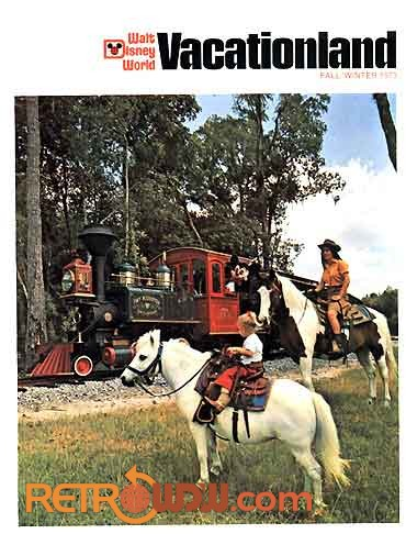 Fort Wilderness Railroad on Vacationland cover