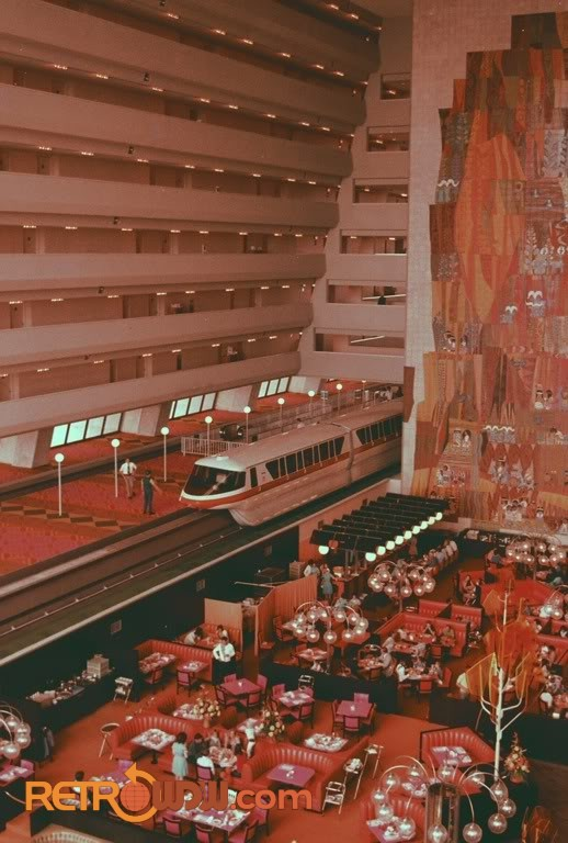 The Contemporary Resort Retrowdw
