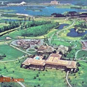 Aerial View of Golf Resort