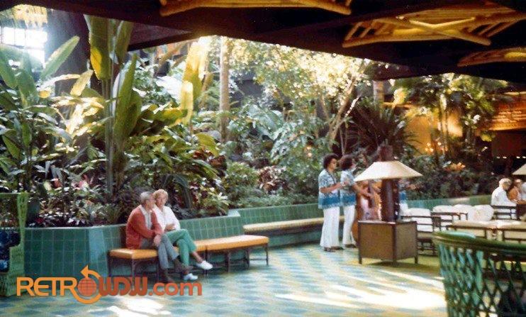 Polynesian Village Lobby