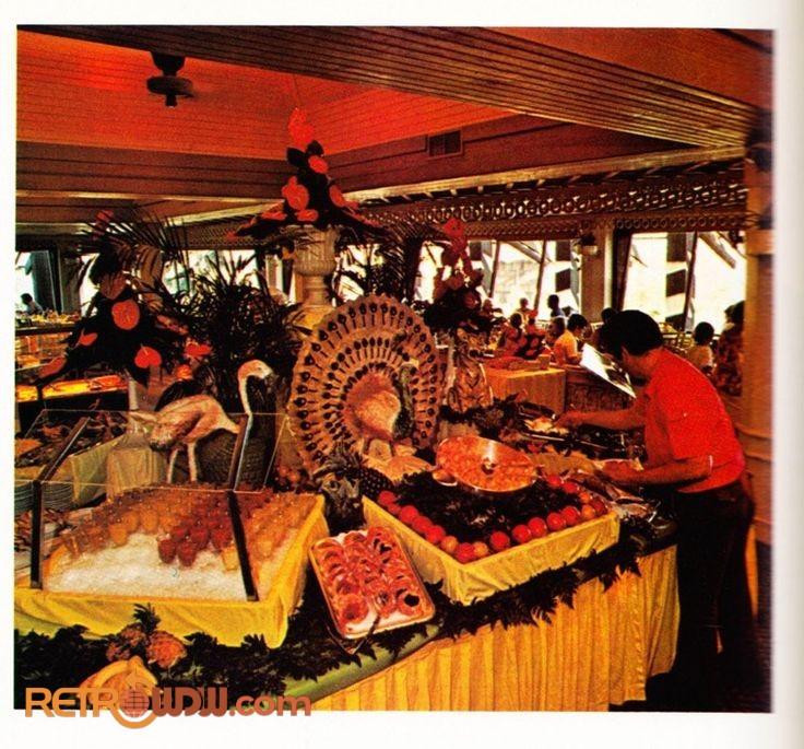 Papeete Bay Varandah restaurant at Disney's Polynesian Village