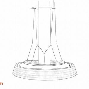 EPCOT-Center-Entrance-Fountain-(Artsy-version---3D-Print)-v0.72-(Pencil-Sketch)
