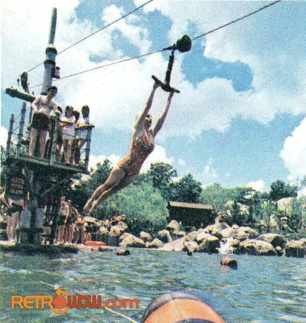 River Country 1977 - Cable Ride
