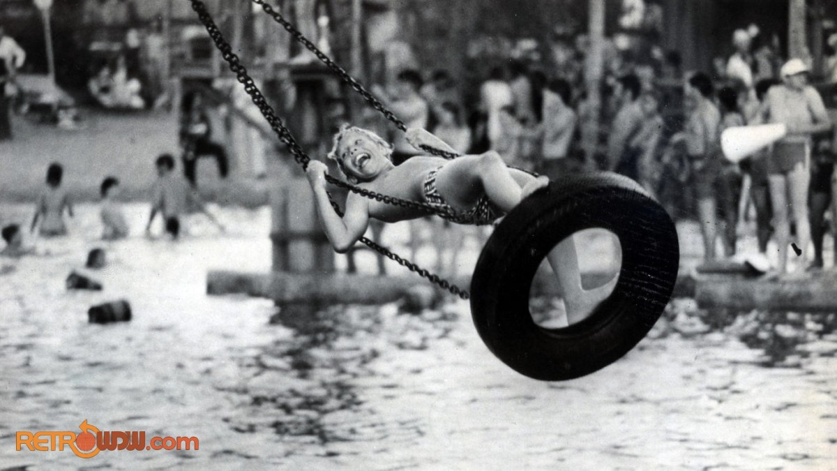 River Country Tire Swing - June 18, 1976