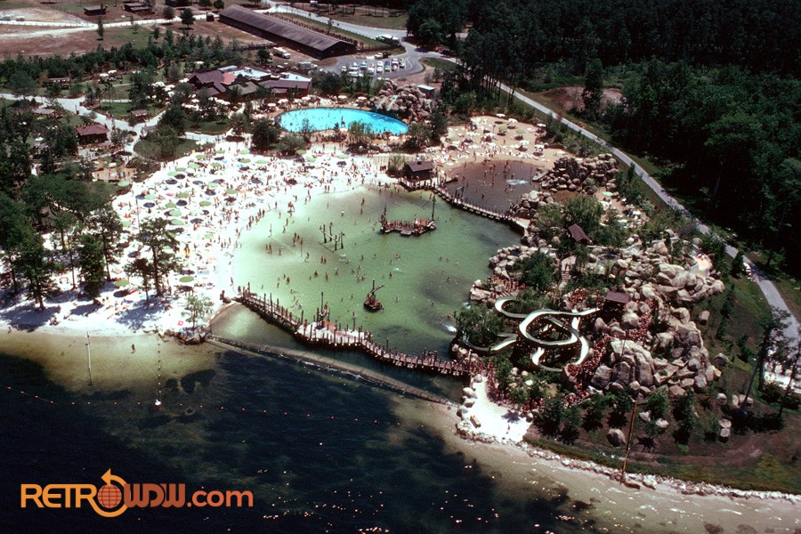 River Country Aerial Shot