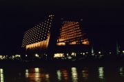 The Contemporary Resort at night