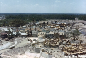 Liberty Square & Adventureland Construction from Castle