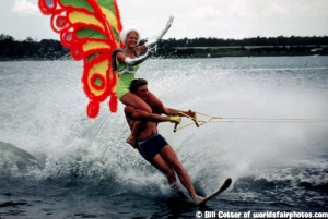 Waterskiing show