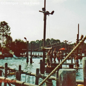 River Country '89 Water Area & Ropes