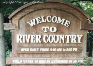 River Country '89 Sign