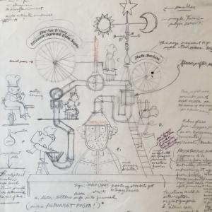 Walter Einsel hand written notes