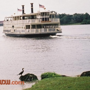 Ferry Sailing Lagoon