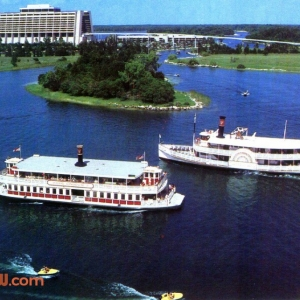 Ferries Passing
