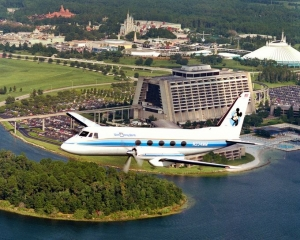 Walt's Private Jet