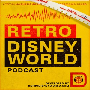 Retro Disney World Podcast logo
